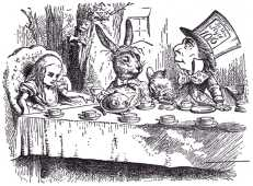 'You should learn not to make personal remarks,' Alice said with some severity; 'it's very rude.'